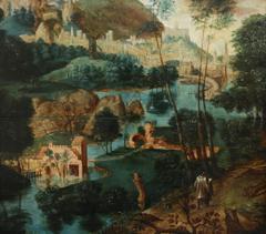 16th Century Netherlandish School (C.1500-1600) - Pilgrims Journey