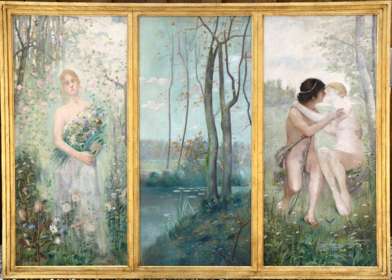 Symbolist Triptych