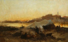 Bedouins on the Nile - Sunset