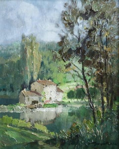 Moulin de Boussoy sur La Sevre , Vendee