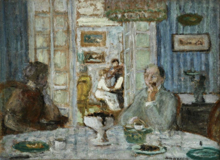 Eugene Antoine Durenne Interior Painting - The Recital
