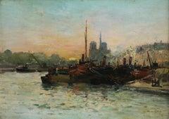 Paris - Seine at Sunset