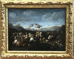 The Battle of Milvian Bridge - 17th Century Italian School (C.1600-C.1700)