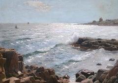 Sunlight on the Coast - Sandvig