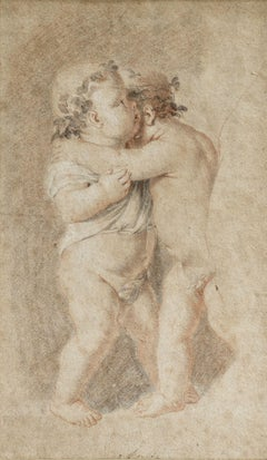 The Infants Christ and Saint John the Baptist Embracing