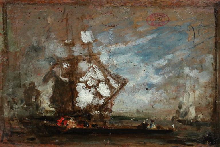 Soir de fête - Painting by Felix Ziem