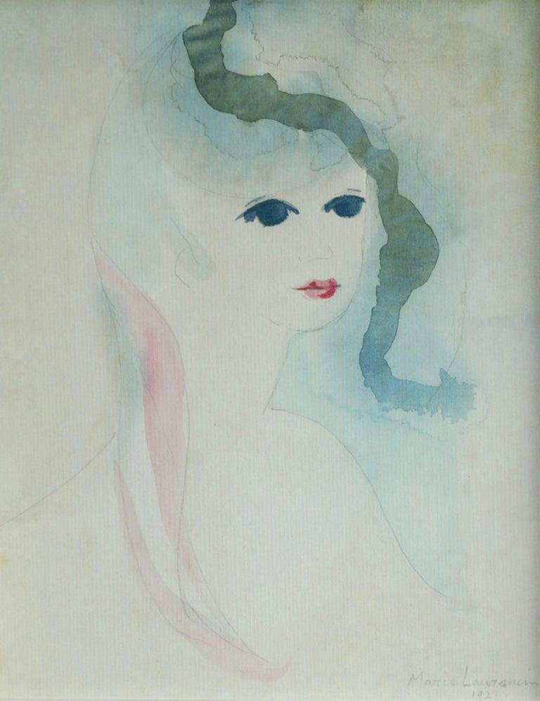 Marie Laurencin Portrait - Young Girl