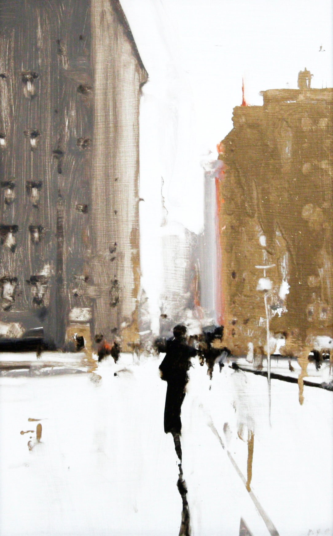 Geoffrey Johnson City Study 10 Painting At 1stdibs