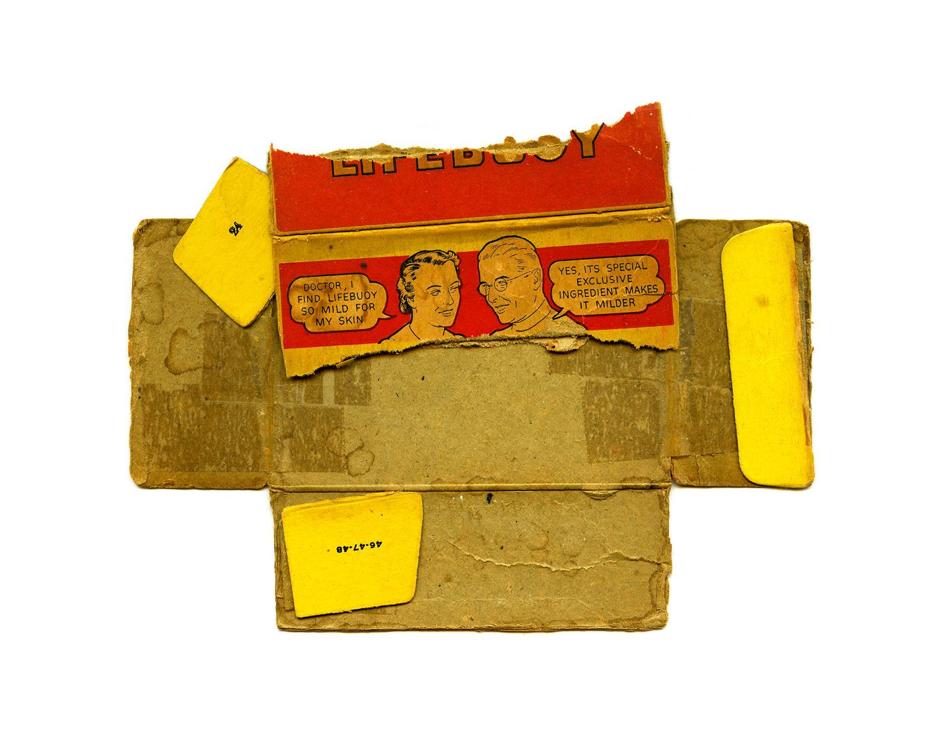 Roy, red and yellow pop art pigment print photograph, 2013