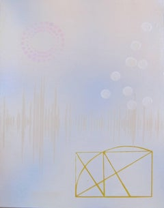 Dorothy Alig, Sense of Self ESTJ, Abstract acrylic on wood panel painting, 2016