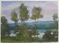Daisy Craddock, Summer Romance (1st), Oil pastel landscape, 2015