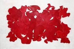 Ray Kass, Still Life 5-16-2015, abstract mixed media watercolor painting, 2015
