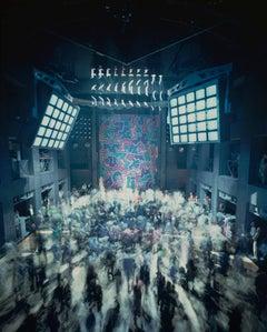Timothy Hursley, Keith Haring Backdrop at Palladium, New York, documentary photo