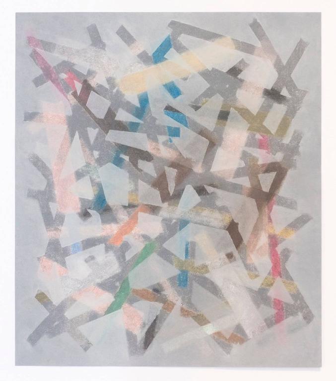 Tamiko Kawata, PH Drawing (Quiet Chaos), Abstract pastel and charcoal drawing