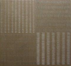 "Tamiko Kawata, Permutation Series: ""Paper Clips - 1"", Abstract sculpture, 2015"