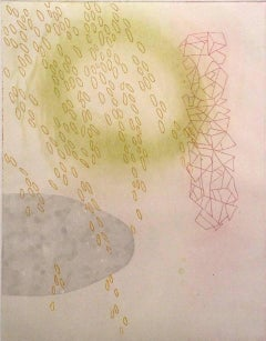 Dorothy Alig, Jung's Healer, V.E.: 1/4, Abstract aquatint and etching print