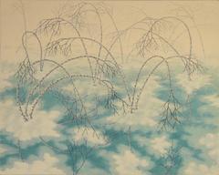 Alan Bray, Unburdened, Casein on panel landscape painting, 2017