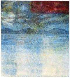 Keiji Shinohara, Capo, Ukiyo-e landscape woodblock print, 2010
