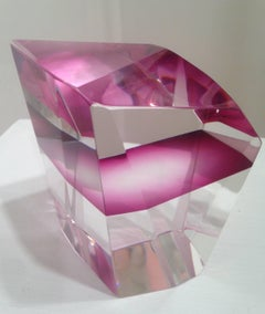 Neema Lal - Neema Lal, Love, Abstract optical glass sculpture, 2016
