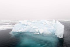 Iceberg, Franklinsundet, Nordauslandet, Svalbard, Norway, July 2017