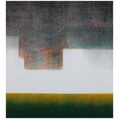 Opus 22, Ukiyo-e monotype landscape print, 2011
