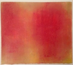Ida Red, Abstract Oil Pastel
