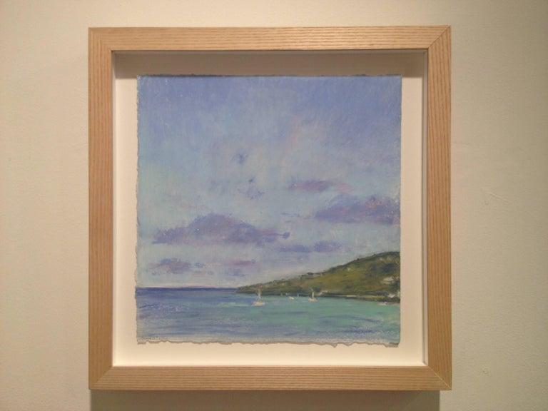 Daisy Craddock, Tortolla, Oil pastel landscape, 2010 For Sale 1