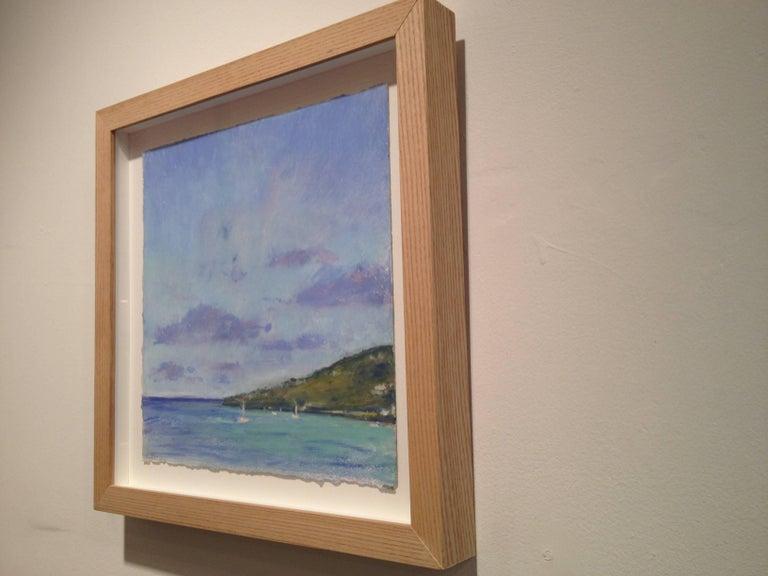 Daisy Craddock, Tortolla, Oil pastel landscape, 2010 For Sale 2