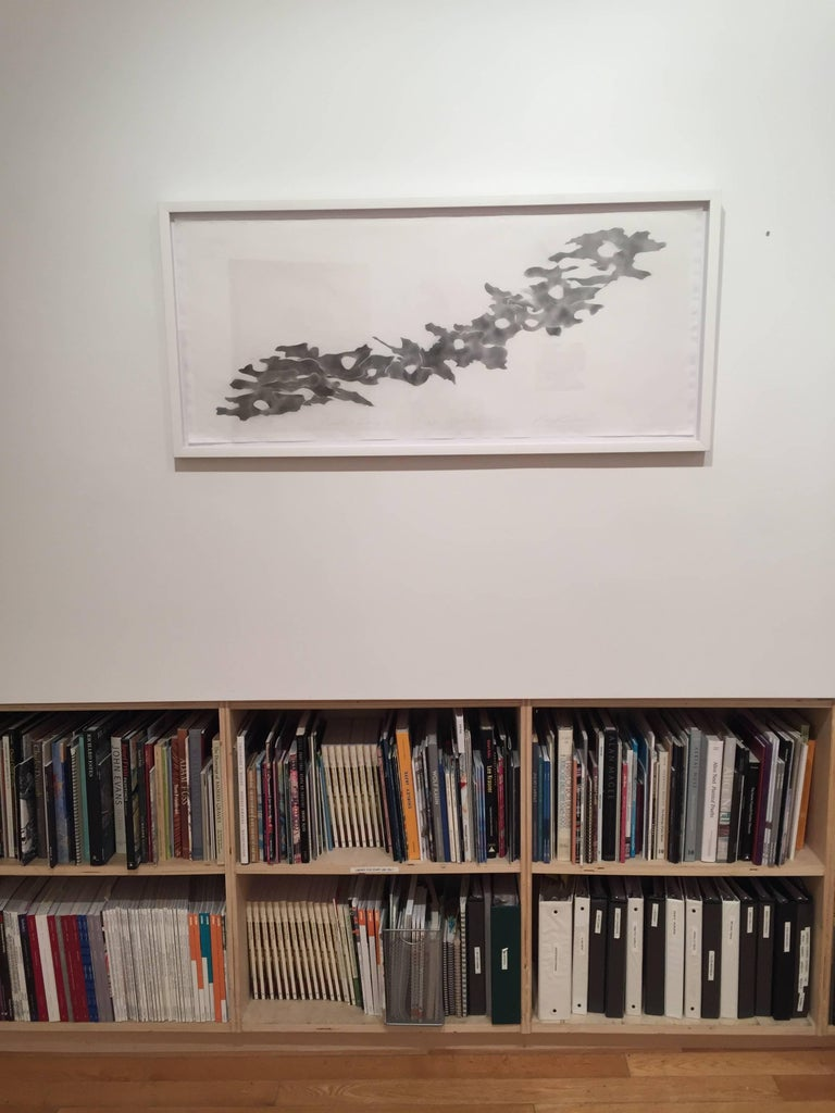 Ray Kass, Bark-Ing 05-30-2016, Abstract graphite drawing on paper, 2016 For Sale 3