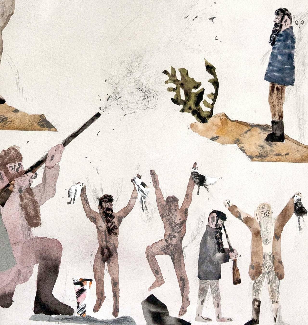 Master Evokes Cheers of Joy from Natives - Art by Guðmundur Thoroddsen