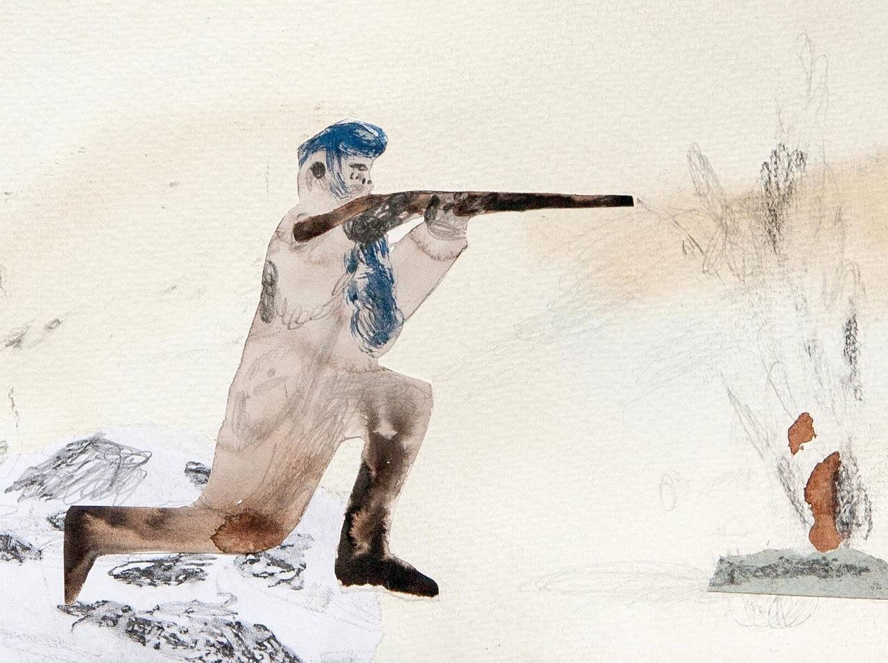Fruitless Hunting - Contemporary Art by Guðmundur Thoroddsen