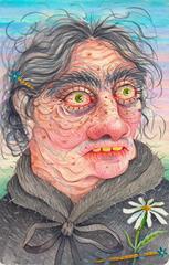 Daisy Pin'd Old Maid