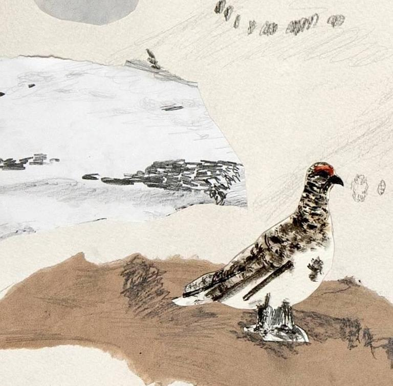 Ptarmigan Hunt IV - Contemporary Art by Guðmundur Thoroddsen
