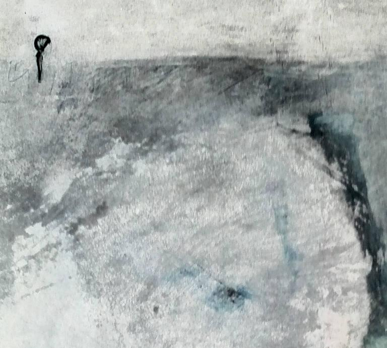 'Waters I' - Painting by Angelica Bergamini
