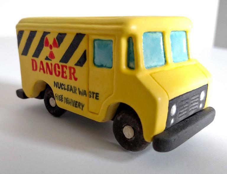 Kenjiro Kitade Still-Life Sculpture - Danger Truck