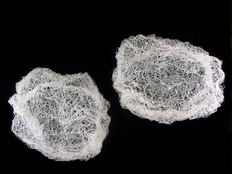 Angelica Bergamini Abstract Sculpture - Clouds I & II