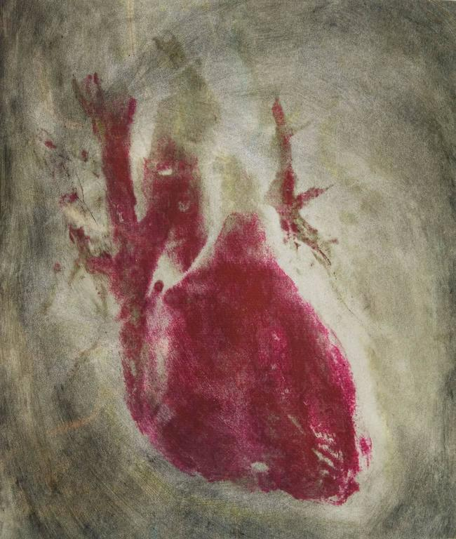 'Motus animae' - Painting by Angelica Bergamini