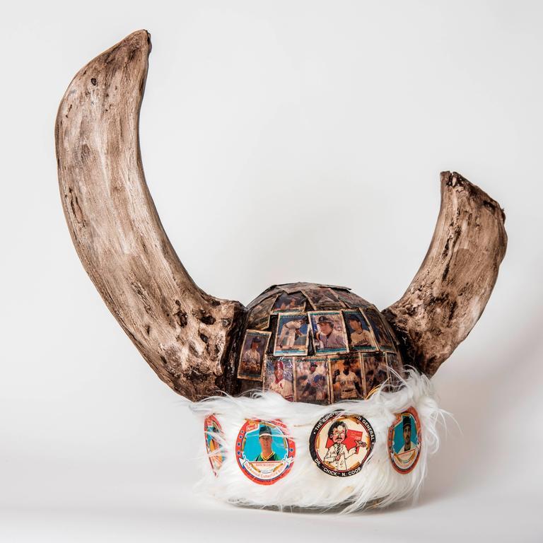Dr. Chicken Coop Viking Helmet
