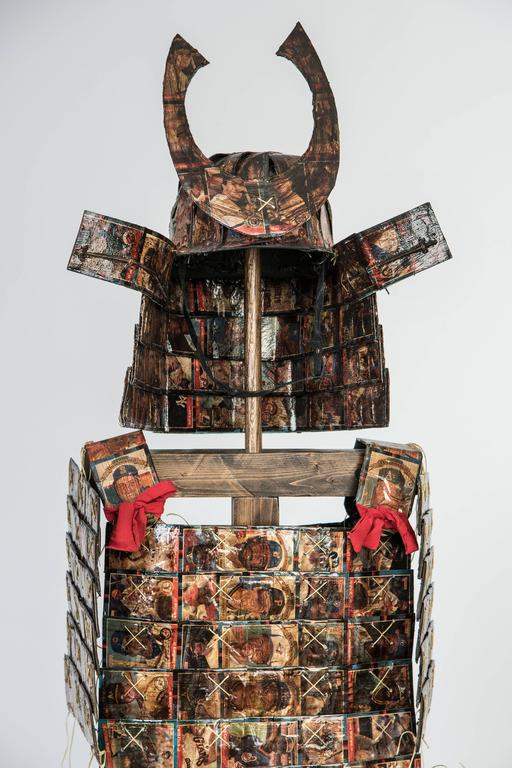 Donruss 88 Samurai Armor - Sculpture by Joshua Goode