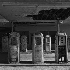 Photography Sq Series; 'Gas Pumps'