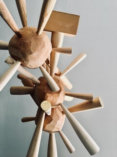 "Sculpture; ""Untitled (Abstract)"