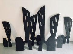Sculpture; 'City Scape'