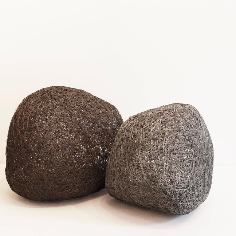Sassi (Stone-Medium) - Contemporary Sculpture by Angelica Bergamini