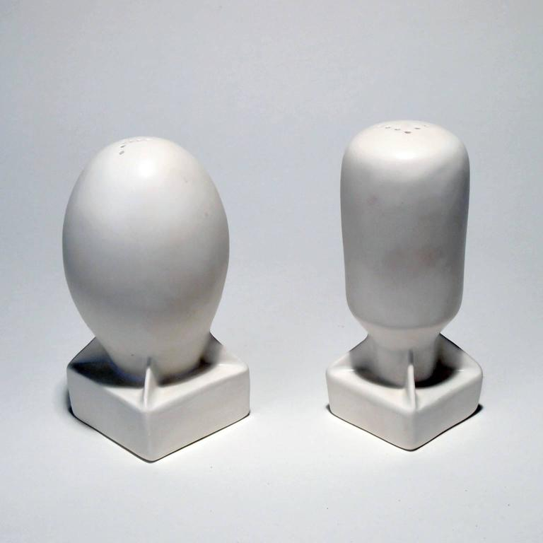 Atomic Salt & Pepper Shakers - Sculpture by Kenjiro Kitade