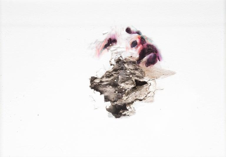 Wounds XV - Mixed Media Art by Juan Miguel Palacios