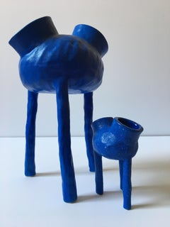 Sculpture; 'Creature Medium 7 & Creature Small 12'
