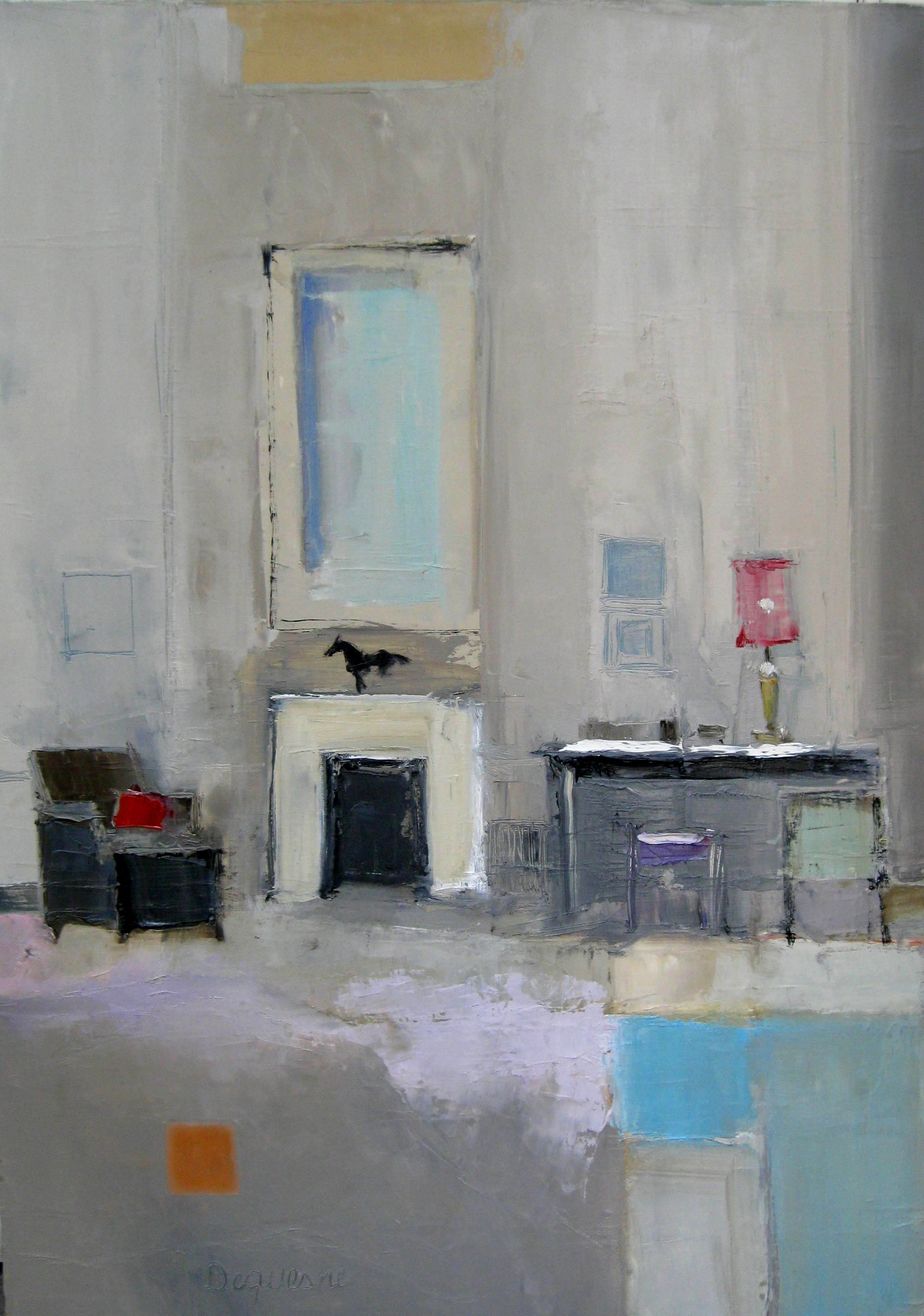 Luciana Levinton - Palais, Painting For Sale at 1stdibs