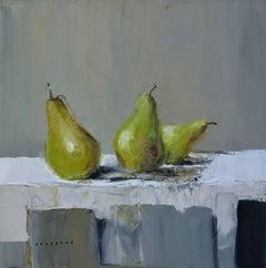 Dessert, oil paint on canvas