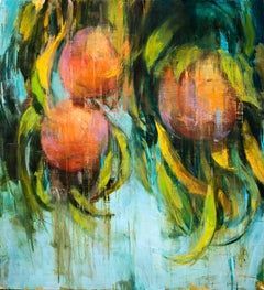 Mellow Peaches, Contemporary Style painting