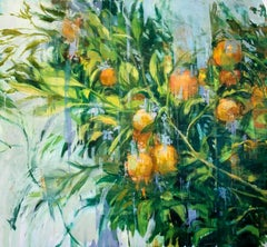 The Orange Tree, Contemporary Style Oil Painting